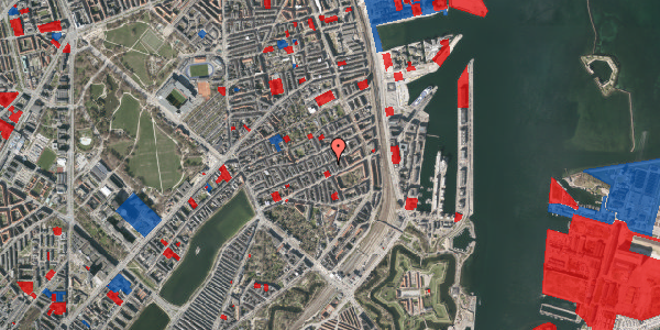 Jordforureningskort på Willemoesgade 60, 5. tv, 2100 København Ø