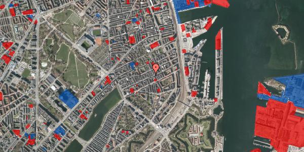 Jordforureningskort på Willemoesgade 61, 1. th, 2100 København Ø