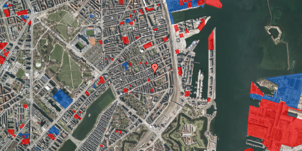 Jordforureningskort på Willemoesgade 62, 1. tv, 2100 København Ø