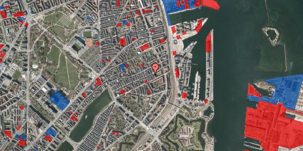 Jordforureningskort på Willemoesgade 66, 1. th, 2100 København Ø