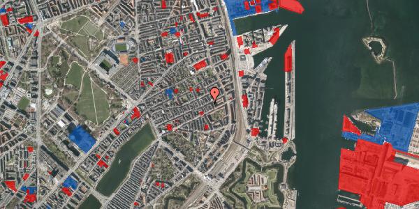 Jordforureningskort på Willemoesgade 66, 1. tv, 2100 København Ø