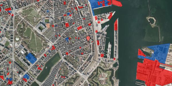 Jordforureningskort på Willemoesgade 68A, 2100 København Ø
