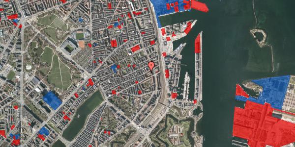 Jordforureningskort på Willemoesgade 70, 2. 4, 2100 København Ø