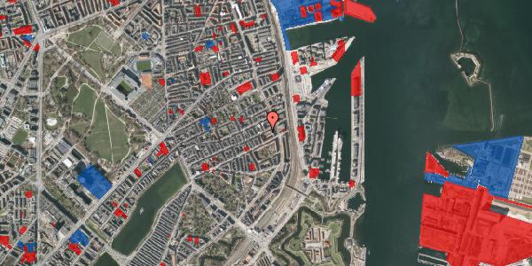 Jordforureningskort på Willemoesgade 70, 4. 1, 2100 København Ø
