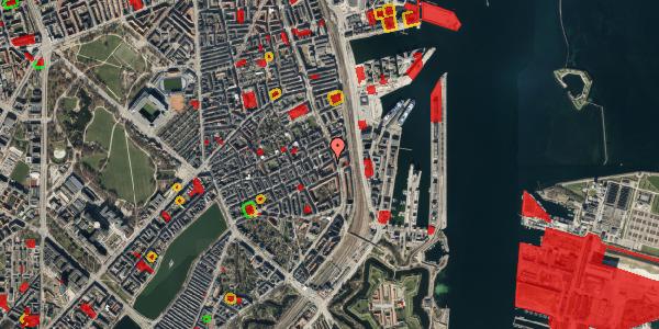 Jordforureningskort på Willemoesgade 74, st. mf, 2100 København Ø