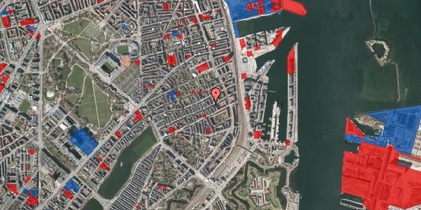 Jordforureningskort på Willemoesgade 77, 1. th, 2100 København Ø