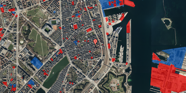Jordforureningskort på Willemoesgade 79, 4. , 2100 København Ø