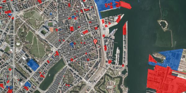 Jordforureningskort på Willemoesgade 85, 1. tv, 2100 København Ø