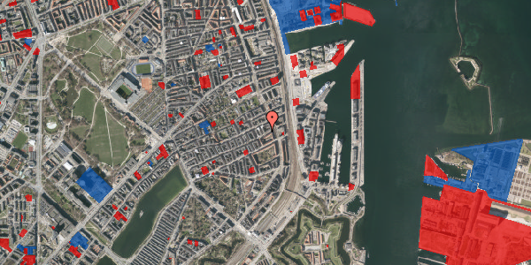 Jordforureningskort på Willemoesgade 85, 3. th, 2100 København Ø