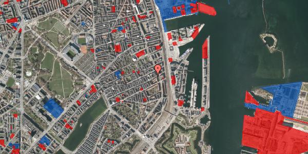Jordforureningskort på Willemoesgade 87, 1. th, 2100 København Ø