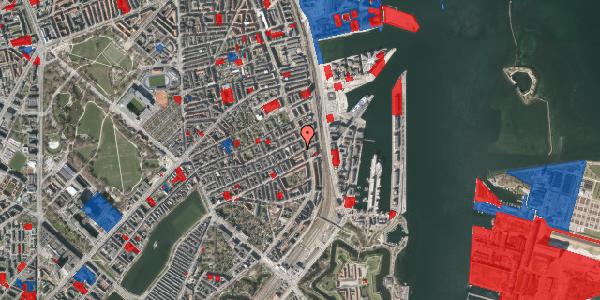 Jordforureningskort på Willemoesgade 89, 1. th, 2100 København Ø
