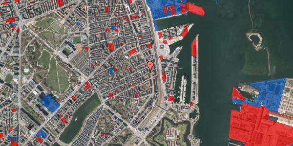 Jordforureningskort på Willemoesgade 89, 3. tv, 2100 København Ø