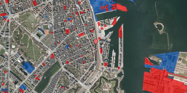 Jordforureningskort på Willemoesgade 91, 1. th, 2100 København Ø