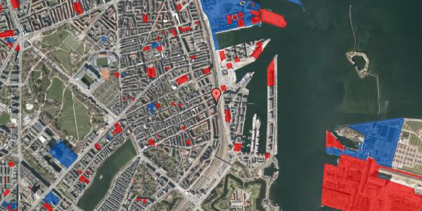 Jordforureningskort på Willemoesgade 93B, 1. th, 2100 København Ø