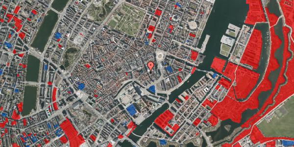 Jordforureningskort på Vingårdstræde 17, 3. tv, 1070 København K