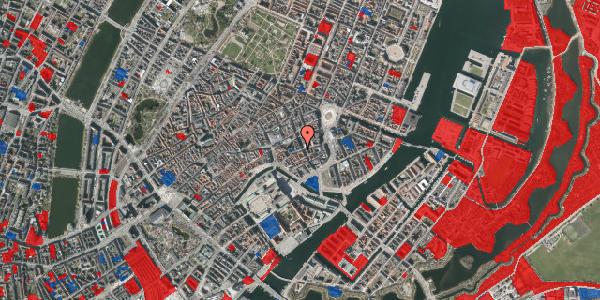 Jordforureningskort på Vingårdstræde 20, st. 1, 1070 København K