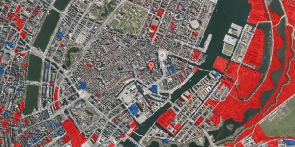 Jordforureningskort på Vingårdstræde 21, 3. tv, 1070 København K