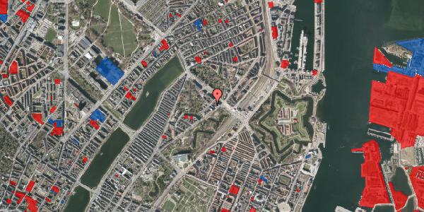 Jordforureningskort på Visbygade 6, 1. tv, 2100 København Ø
