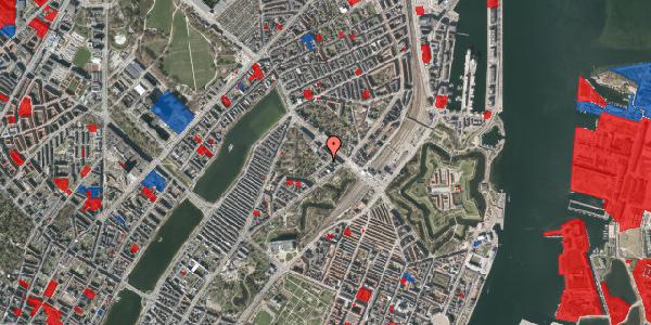 Jordforureningskort på Visbygade 8, 1. tv, 2100 København Ø