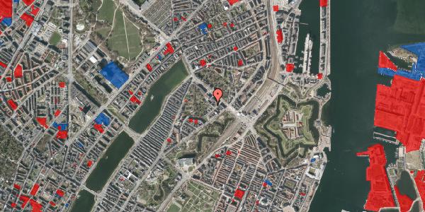 Jordforureningskort på Visbygade 10, 3. tv, 2100 København Ø