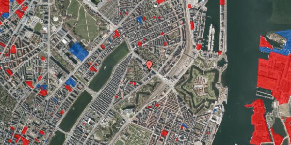 Jordforureningskort på Visbygade 12, 3. tv, 2100 København Ø
