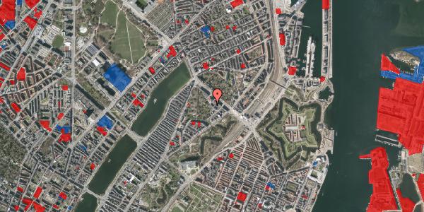 Jordforureningskort på Visbygade 16, 1. , 2100 København Ø