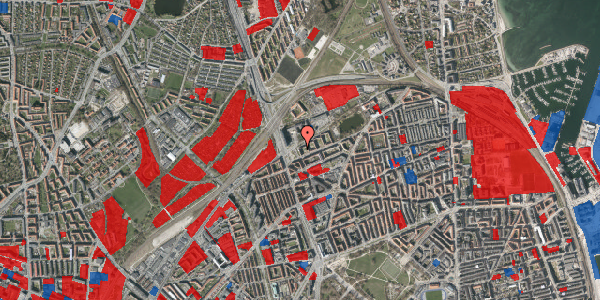 Jordforureningskort på Vognmandsmarken 5, st. , 2100 København Ø