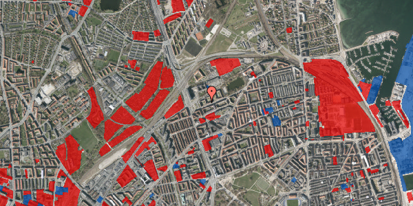 Jordforureningskort på Vognmandsmarken 11, 4. th, 2100 København Ø