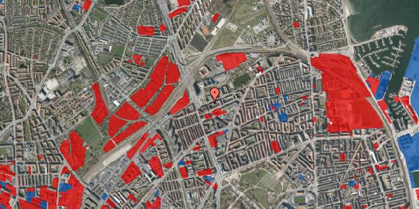 Jordforureningskort på Vognmandsmarken 12, 1. th, 2100 København Ø