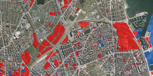 Jordforureningskort på Vognmandsmarken 13, st. th, 2100 København Ø