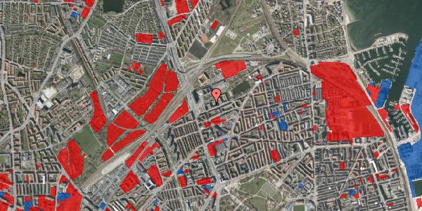 Jordforureningskort på Vognmandsmarken 13, 1. th, 2100 København Ø