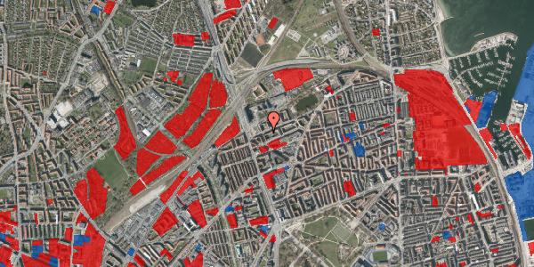 Jordforureningskort på Vognmandsmarken 14, 1. th, 2100 København Ø