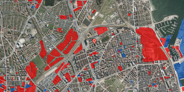 Jordforureningskort på Vognmandsmarken 15, st. tv, 2100 København Ø