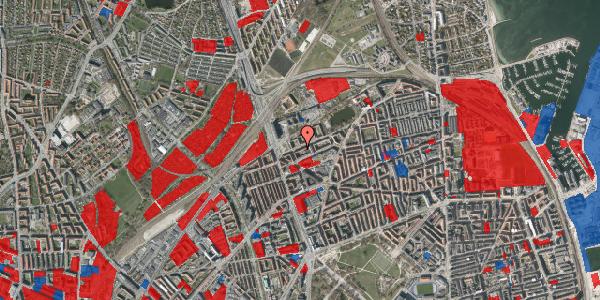 Jordforureningskort på Vognmandsmarken 16, 1. th, 2100 København Ø