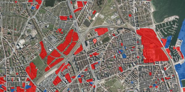 Jordforureningskort på Vognmandsmarken 17, 3. th, 2100 København Ø