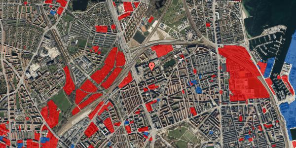Jordforureningskort på Vognmandsmarken 17, 3. tv, 2100 København Ø