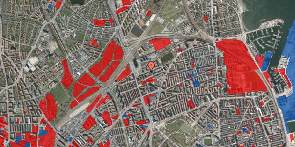 Jordforureningskort på Vognmandsmarken 18, 2. th, 2100 København Ø