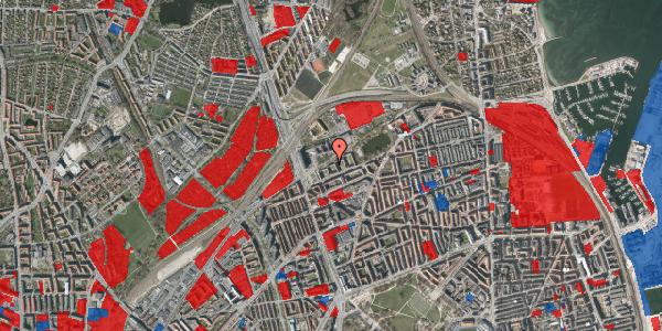 Jordforureningskort på Vognmandsmarken 19, 3. tv, 2100 København Ø