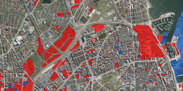 Jordforureningskort på Vognmandsmarken 22, 1. th, 2100 København Ø
