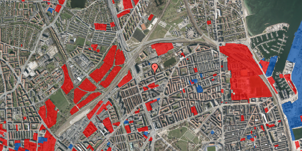 Jordforureningskort på Vognmandsmarken 23, 4. th, 2100 København Ø