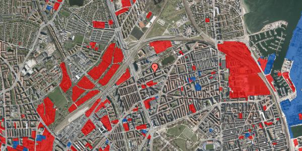 Jordforureningskort på Vognmandsmarken 24, 3. tv, 2100 København Ø
