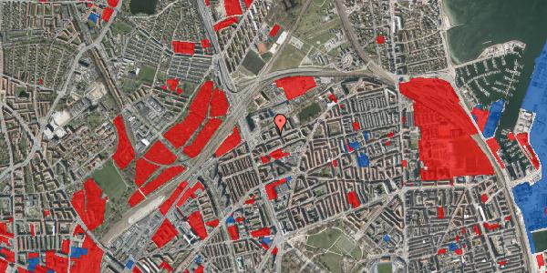 Jordforureningskort på Vognmandsmarken 25, 1. th, 2100 København Ø