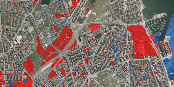 Jordforureningskort på Vognmandsmarken 25, 4. tv, 2100 København Ø