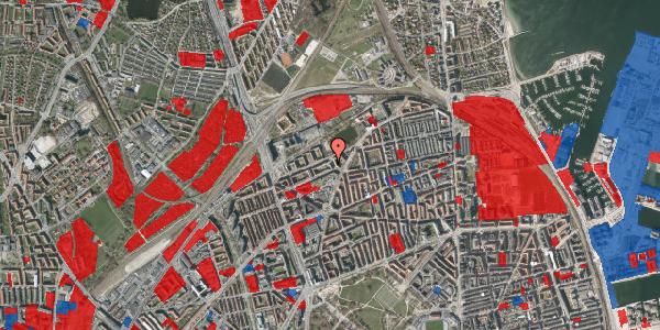 Jordforureningskort på Vognmandsmarken 26, 2. th, 2100 København Ø