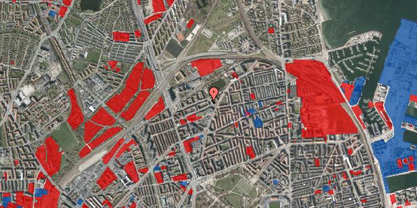 Jordforureningskort på Vognmandsmarken 28, 1. th, 2100 København Ø