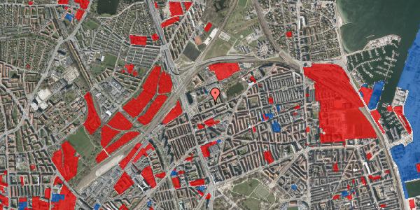 Jordforureningskort på Vognmandsmarken 29, st. tv, 2100 København Ø