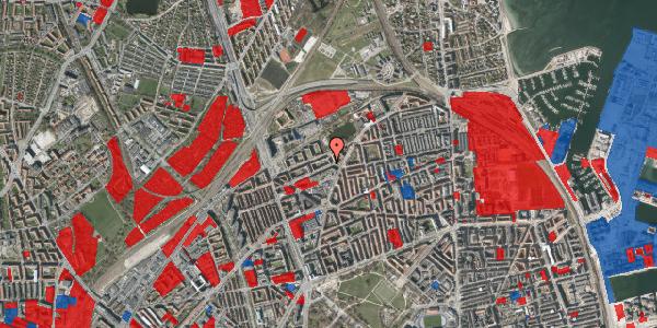 Jordforureningskort på Vognmandsmarken 30, 1. th, 2100 København Ø