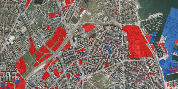 Jordforureningskort på Vognmandsmarken 30, 4. th, 2100 København Ø