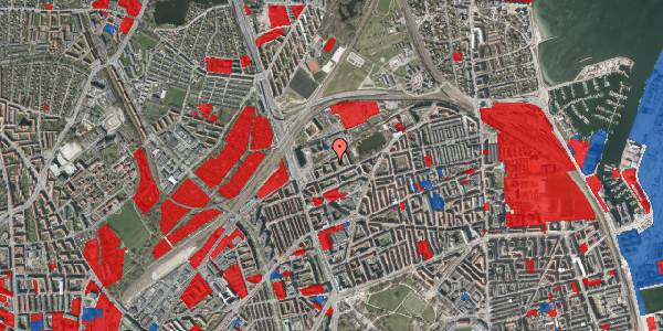 Jordforureningskort på Vognmandsmarken 31, 2. th, 2100 København Ø
