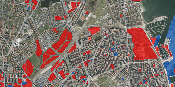 Jordforureningskort på Vognmandsmarken 33, 1. mf, 2100 København Ø